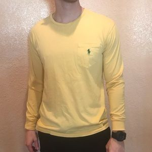 Polo Ralph Lauren Yellow Long-Sleeve Tee